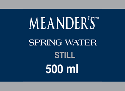 Meanders Spring Water 500ml
